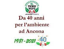40 ANNI PER L'AMBIENTE - IL PUNGITOPO  28 MARZO 1981 - 28 MARZO 2021